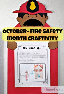 Fire Safety Month Craft
