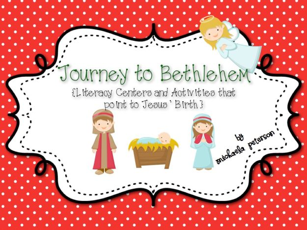 Journey to Bethlehem Jesus Christmas Activities