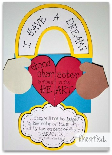Martin Luther King Jr Crafts and Printables