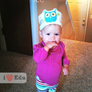 100th Day Paisley headband blog